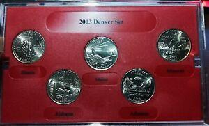 🔥Beautiful Uncirculated🔥2003 Denver Mint State Quarters # SQ720-2