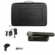 Shure BLX24/SM58 Mic Wireless System w/Cordless SM58 Handheld Vocal Microphone
