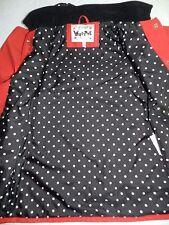 GIRLS red raincoat jacket =  WIPPETTE = MEDIUM 5/6 = jy66