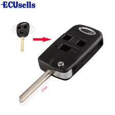 For Lexus IS200 GS300 LS400 RX300 3 Button CONVERSION Flip Remote Key Fob Case