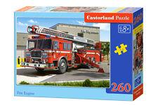 CASTORLAND b-27040 Puzzle Fire Engine vigili del fuoco auto Puzzle per bambini 260 pezzi