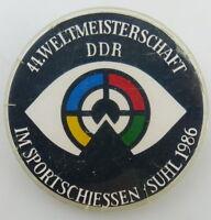 Deutsche Meisterschaft Alpine 1965 Goldlauter Suhl Teilnehmer Abzeichen DSLV XV