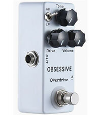 Upgraded Mini OCD Overdrive/Distortion Guitar Effects Pedal Based on Fulltone