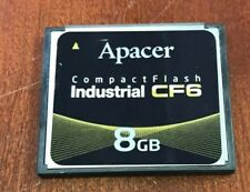 Apacer 8GB Compactflash Industrial CF AP-CF008GRANS-NRC