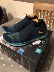 Nike Free RN Motion Flyknit Trainers Size 11