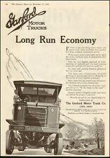 1918 Classic Antique Truck AD ,  GARFORD Motor Trucks Lima OH Great Art ! 040317