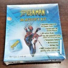 SPIDERMAN 3D Zipper Poster Puzzle  Comic Ruler Marvel Tattoos Bag Tag Bookmark