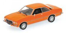 Opel Rekord D Coupe' 1975 Orange 1:43 Model MINICHAMPS
