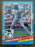 1991 Ken Griffey Jr #49 Donruss All-star card rare variation