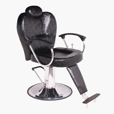 Salon Beauty Barber Chair Hairdressing Styling Haircare Reclining Threading