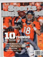 2014 Sports Illustrated Si PAYTON MANNING Broncoss Superbowl newsstand copy