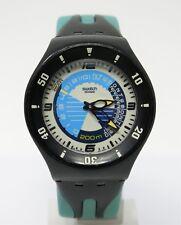 Orologio swatch diver fun scuba 200 metri diving clock profondimetro horloge