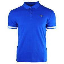 Genuine Armani Jeans Mens T-Shirt Navy Blue Classic Fashion Size S M L XL XXL