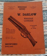 W DARLOW GUNMAKERS TRADE CATALOGUE OF SHOTGUNS RIFLES GUNS PISTOLS