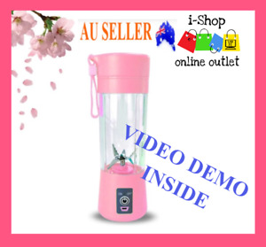 6 Blades USB Blender Portable Juicer Rechargeable Cup Mixer Personal Smoothie