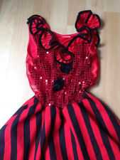 ROBE ANDALOUSE ESPAGNOLE 9 10 ANS TBE DANSE FLAMENCO JAZZ spectacle HALLOWEEN*