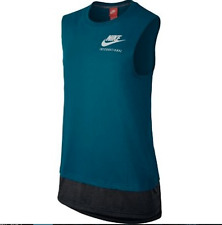 SZ S Nike Double-Layer International Women's Running Top Shirt 802360-301 $60