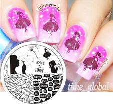 Nagel Schablone Nail Art Stamp Stempel Template Plates BORN PRETTY BP69