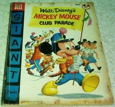 Walt Disney's Mickey Mouse Club Parade 1, VG+ (4.5) 1955, 50% off Guide!