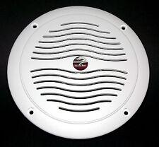 "5"" Dual Cone Waterproof Marine Speaker - 5 Inch Round Integral Grill Spa RV Boat"
