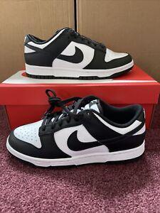 Size 7.5 - Nike Dunk Low Black/White 2021