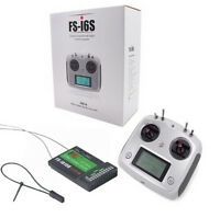 Flysky FS-i6S Remote Control 2.4G 10CH AFHDS Transmitter FS-IA10B Receiver
