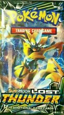 Pokemon Sun & Moon Lost Thunder: New Sealed  Booster Pack