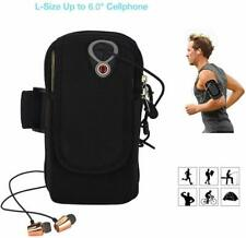 """SPORTS RUNNING ARMBAND FOR UP TO 6"""" PHONE. IPHONE, SAMSUNG, JOGGING CYCLING CASE"""
