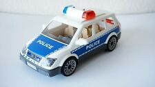 Playmobil Police Car Toy With Light/ Sirena Sound Used Functional Plastic Great