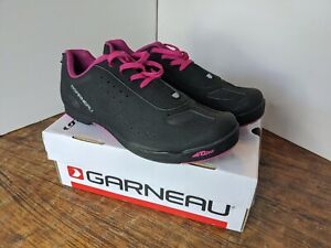 Louis Garneau Urban Women's Cycling Lace Shoe Black/Pink US 11.5 EU43