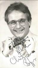 Christopher Biggins signed dedicated 6 x 3 b/w photo, entertainer  E1554