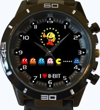 I Love 8 Bit Pacman New Trendy Sports Series Unisex Gift Wrist Watch