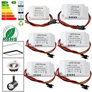 LED Driver Trafo 3W 7W 10W 18W 25W 36W Netzteil Treiber Transformator DC 12V 36V