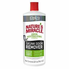Nature's Miracle Skunk Odor Remover Odor Neutralizing Formula 32 fl oz