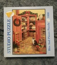 Studio Puzzle 1000 Piece Bits And Pieces 2003 Kitchen Closet  pre-owned