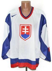 SLOVAKIA NATIONAL TEAM ICE HOCKEY SHIRT JERSEY NIKE SIZE XXL ADULT