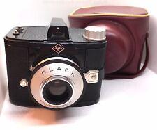 Excellent++ AGFA CLACK Vintage CAMERA & Rare Red Case