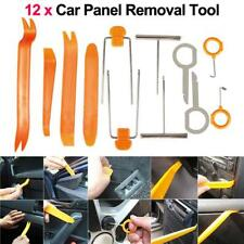 12x Car Audio Door Clip Panel Trim Dashboard Kit Radio CD Removal Pry Tool Set F