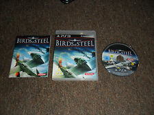 BIRDS OF STEEL SONY PLAYSTATION 3 PS3 BOXED COMPLETE WITH CASE & MANUAL VGC RARE