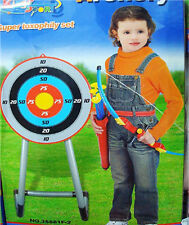 NEW KIDS CHILDREN ARCHERY TOXOPHILY SET CROSSBOW TARGET COMPLETE OUTDOOR PLAY