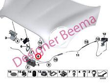 SERRATURA COFANO MINI cavo bowden Anteriore R55 R86 R57 R58 R59 R60 R61 (JS)