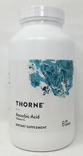 Thorne Research - Ascorbic Acid Vitamin C 1 Gram 250 Caps Exp 12-2020 Fast Ship