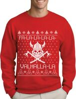 Valahalla Mythology Viking Nordic God Ugly Christmas Sweater Sweatshirt Holiday