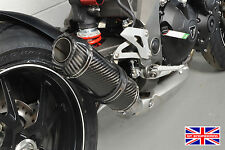 Triumph Speed Triple 2016+ Diabolus Carbon Round XLS Carbon Outlet 3-1 Exhaust