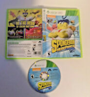 SpongeBob HeroPants game disc w/case good shape (Microsoft Xbox 360, 2015)