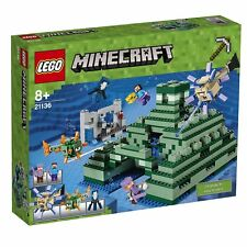 "LEGO Minecraft The Ocean Monument 2017 (21136) ""NEW & SEALED"""
