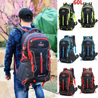 75L Large Waterproof Backpack Rucksack Hiking Camping Travel Bag Outdoor Bag New