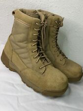 S.W.A.T. 119402 Men's Coyote Suede/Leather Tactical Boots size 11.5 Tan