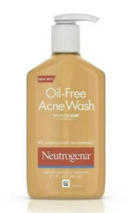 Neutrogena Oil-Free Face Wash Acne Fighting Facial Cleanser, 177ml Full Size