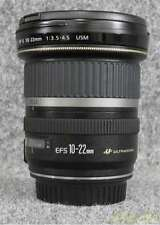 CANON EF - S 10 - 22 MM 1 3.5 - 4.5 USM wide angle zoom lens